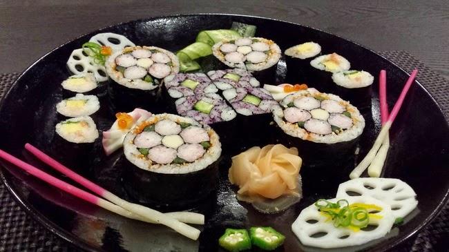 Sushi artístico