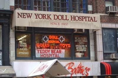 How did the New York Dolls get their band name - Doll Hospital
