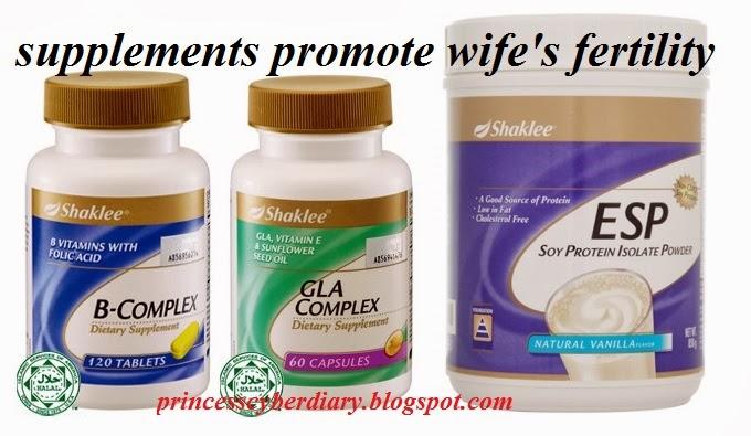 Supplement untuk kesuburan isteri