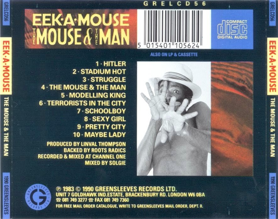 Eek A Mouse The King And I