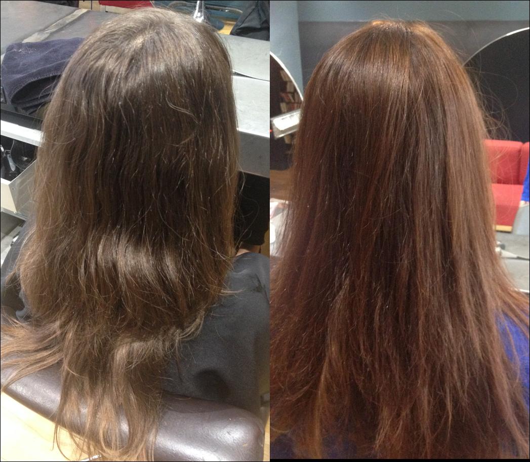 le rsultat aprs 3 shampoings plus des reflets quune vraie couleur mais a donne du peps aux cheveux on verra ce que a donne aprs le second passage - Coloration Logona Avis