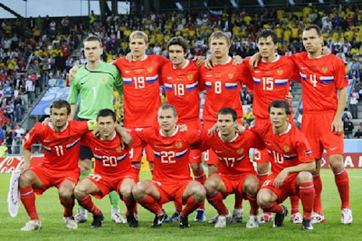 Timnas Rusia Euro 2012