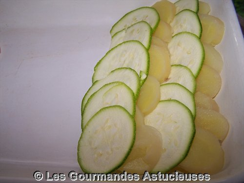 gratin courgettes pommes de terre. Black Bedroom Furniture Sets. Home Design Ideas