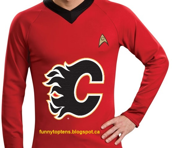 Flames Third Jersey Red shirt