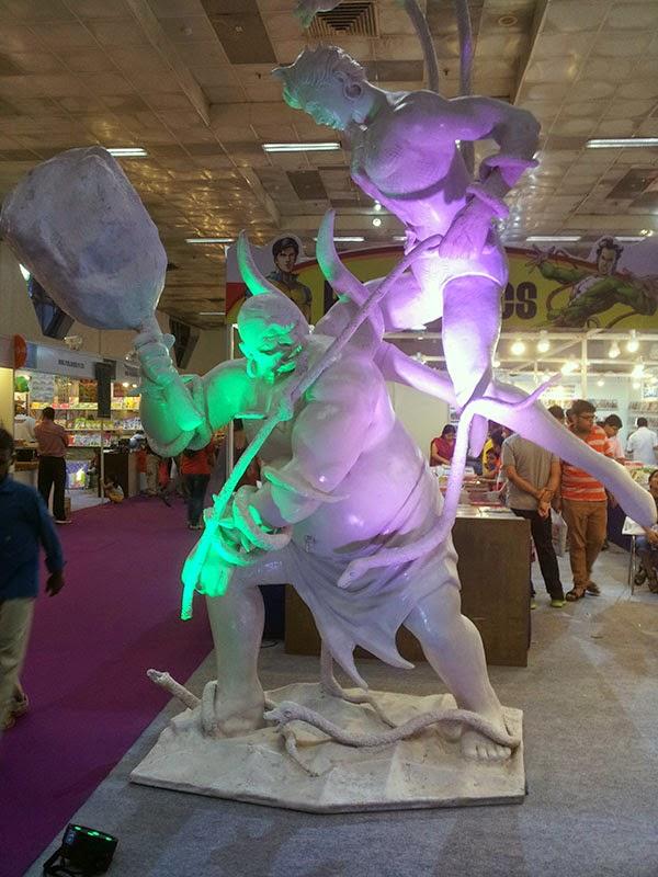 Raj Comics Stall at Delhi Book Fair 2014