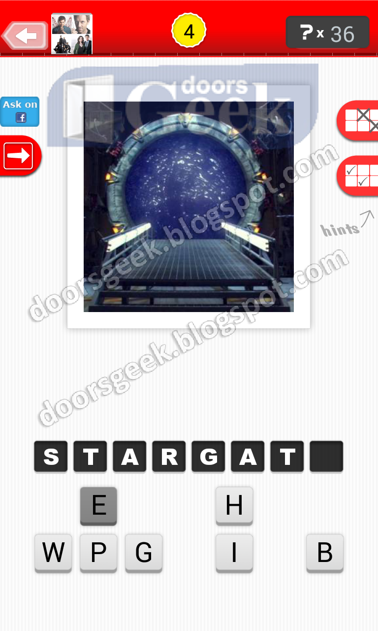 answer stargate guess the tv show level 6 4 answer cheats solution for
