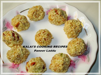Paneer Coconut Laddu | பனீர் தேங்காய் லட்டு | Indian Cottage Cheese and Coconut Sweet Balls