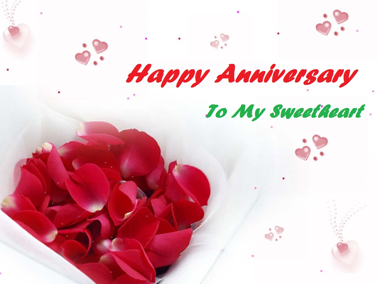 Latest Wonderful Gift For Happy Anniversary Wishes 2013 Festival