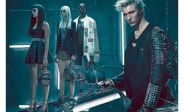 Philipp Plein SS16 Fashion Campaign