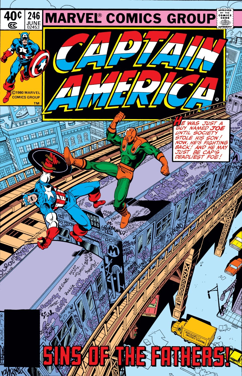 Captain America (1968) Issue #246 #161 - English 1