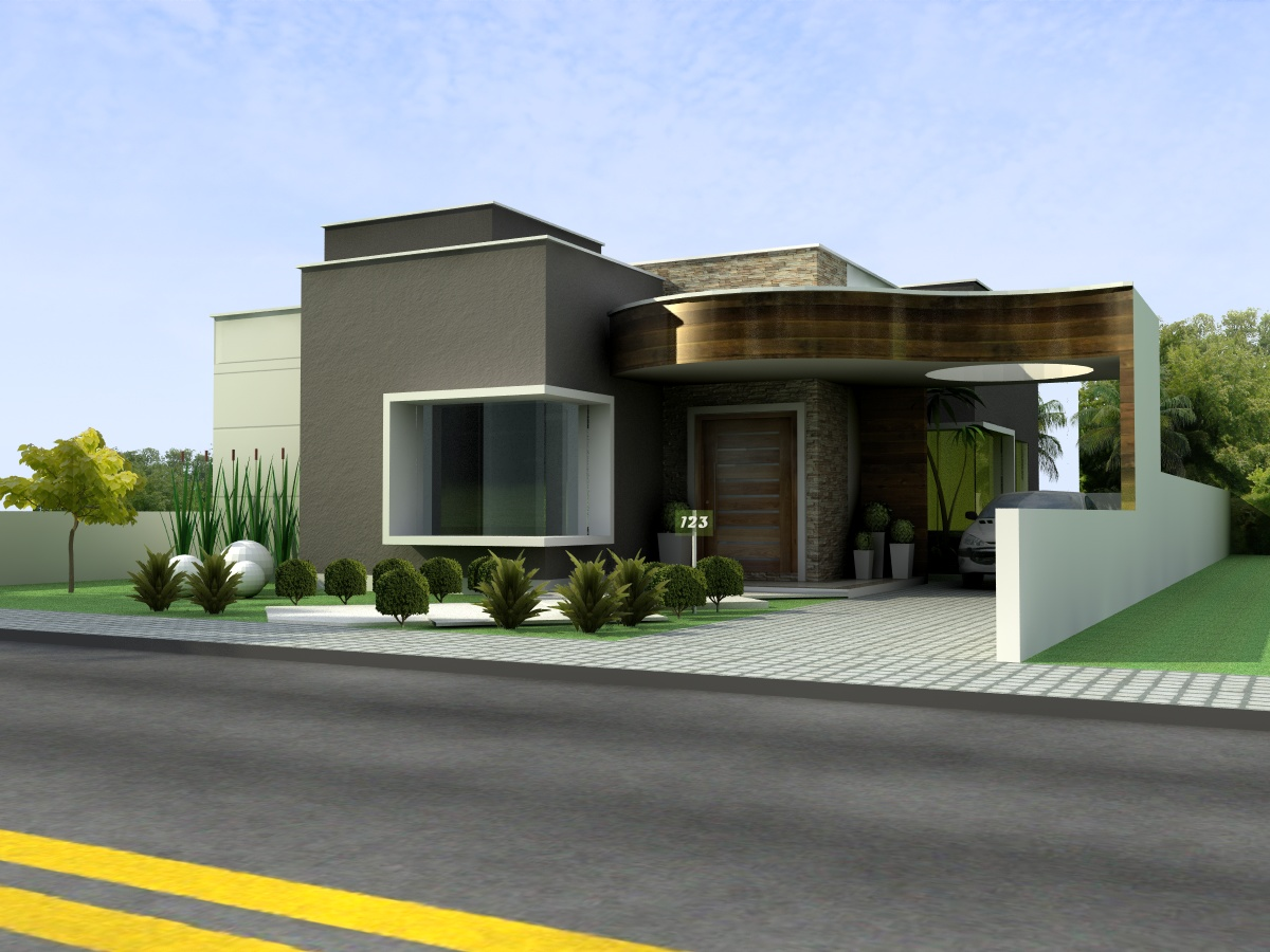 Pictures projetos de casas terreas 1 projetos de casas t rreas #C1A40A 1200 900