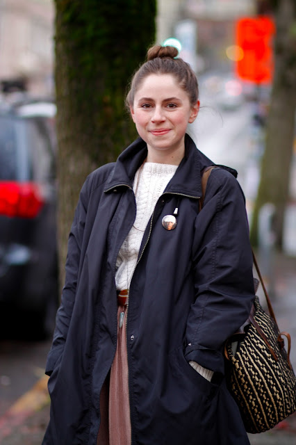 Emma Nauman top knot seattle street style fashion it's my darlin'