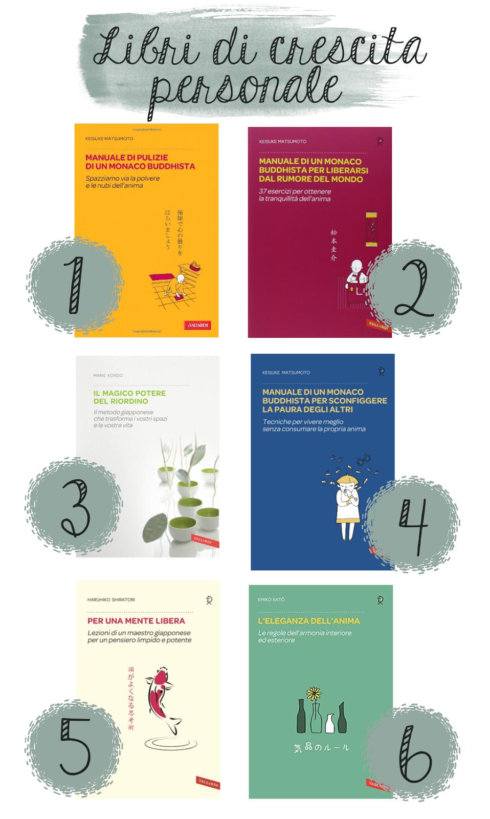 libri di crescita personale - consulenza macrobiotica