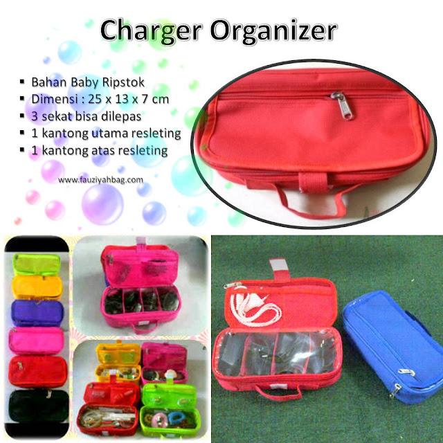 Tempat Charger HP / Charger Organizer
