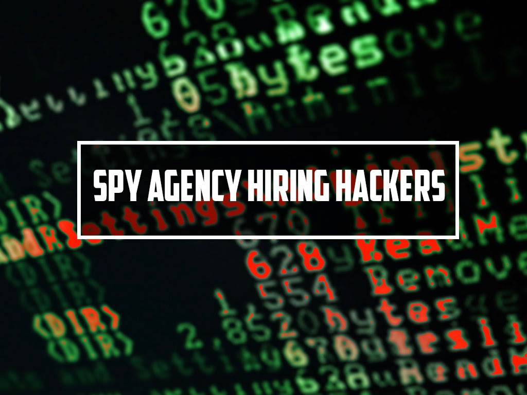 Spy Agency Hiring Hackers To Target Terrorist Networks