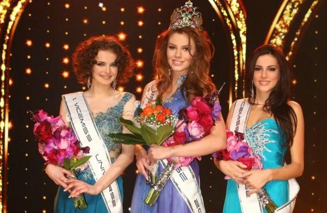 Miss Universe Slovenskej Republiky Slovak Republic Slovakia 2014 Silvia Prochadzkova