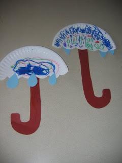 http://easypreschoolcraft.blogspot.ca/2012/03/rainy-day-umbrela-craft-2.html
