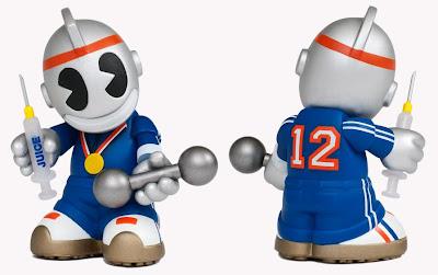 Faster, Higher, Stronger Edition Mini 'Bot by Kidrobot