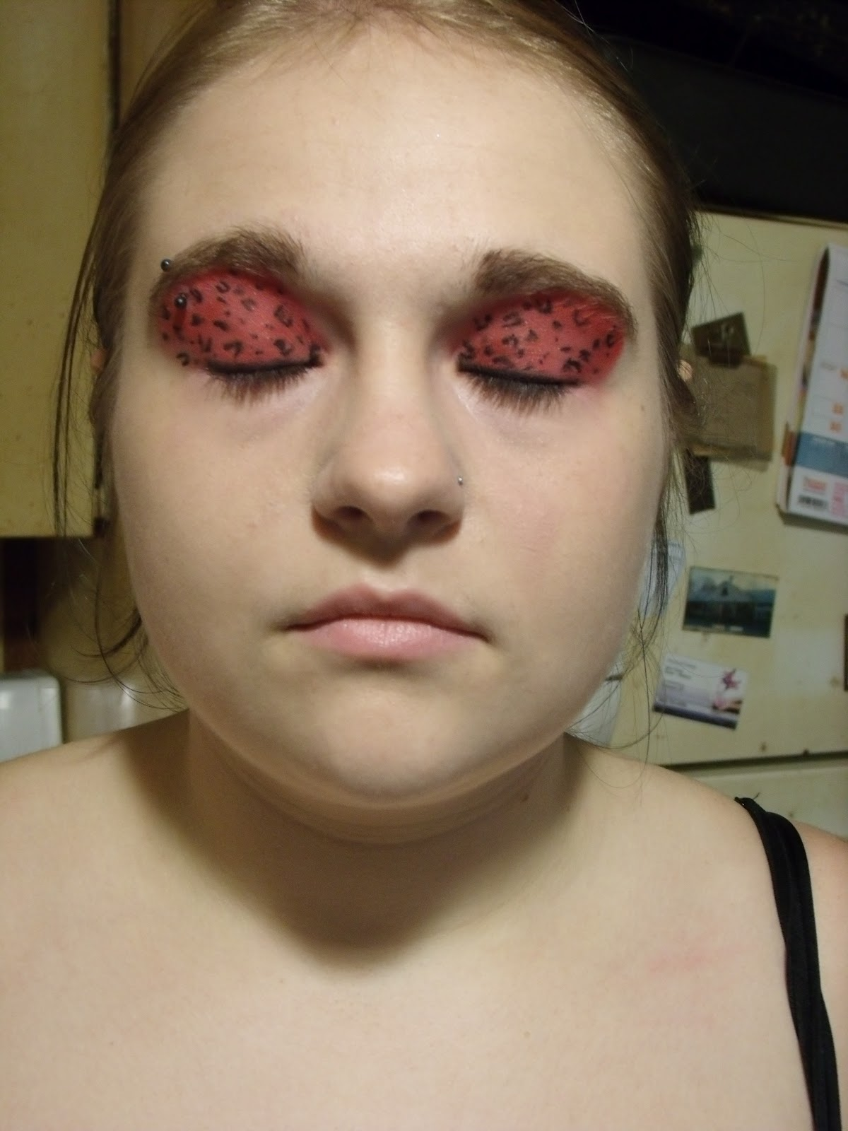 Theatrical Eye Makeup