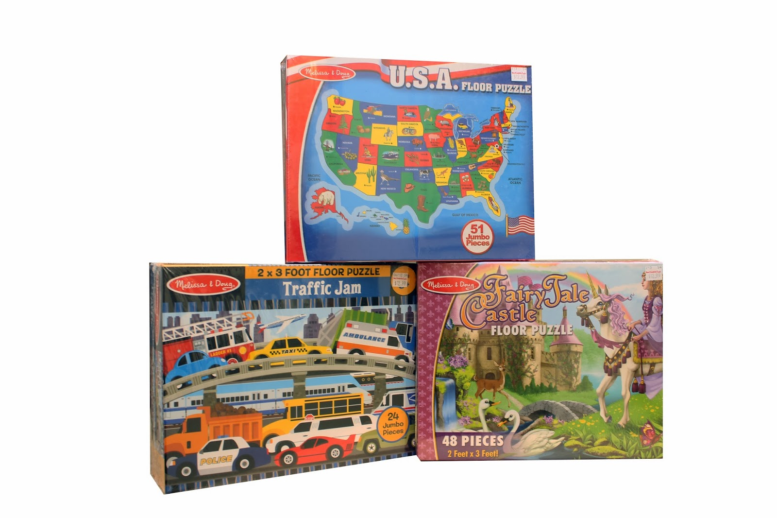 High Quality Melissa And Doug FLOOR PUZZLES **SALE**