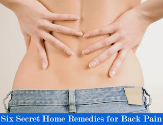 Six Secret Home Remedies for Back Pain