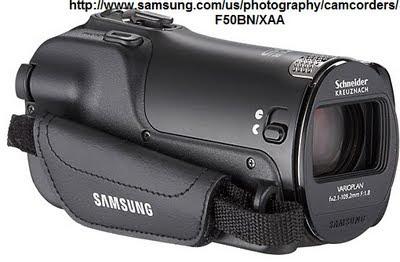 Samsung F50 Camcorder