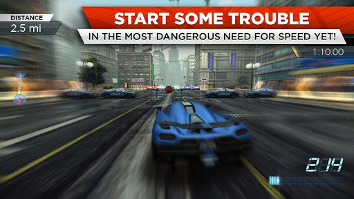 Need For Speed most Wanted Bản offline hack xe và tiền - 16777