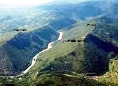 8 maggio - Centenario della Grande Guerra - 3.a tappa: traversata monte Santo-Vodice-Cucco-Plave