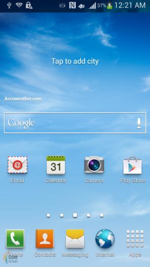 Galaxy S IV - новый флагман Samsung: марта 2013