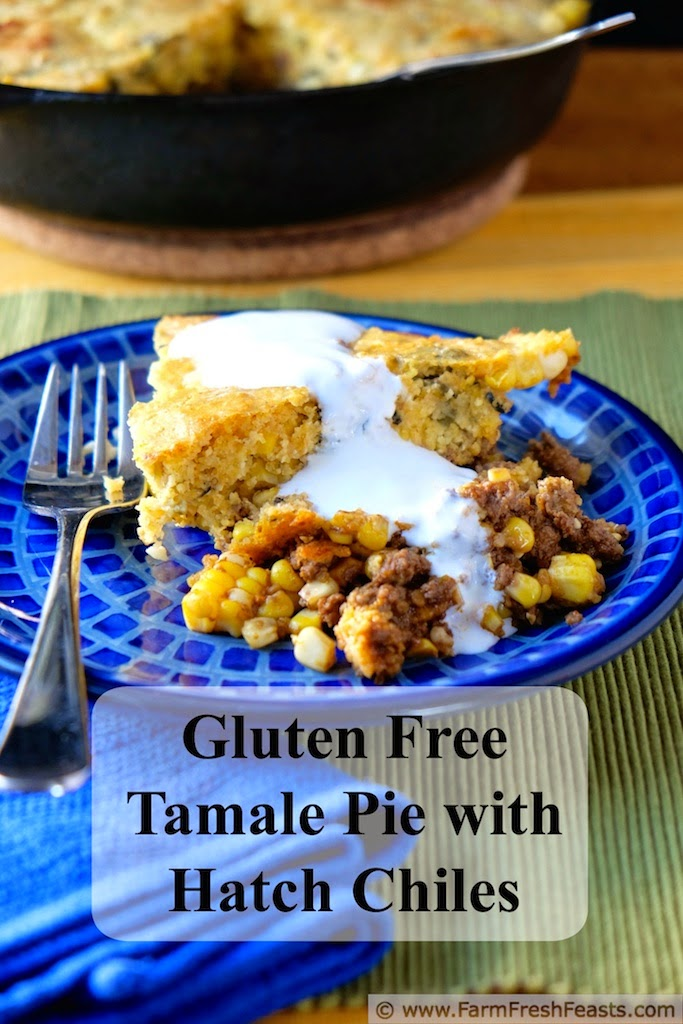 Tamale Pie with Hatch Chiles | Farm Fresh Feasts