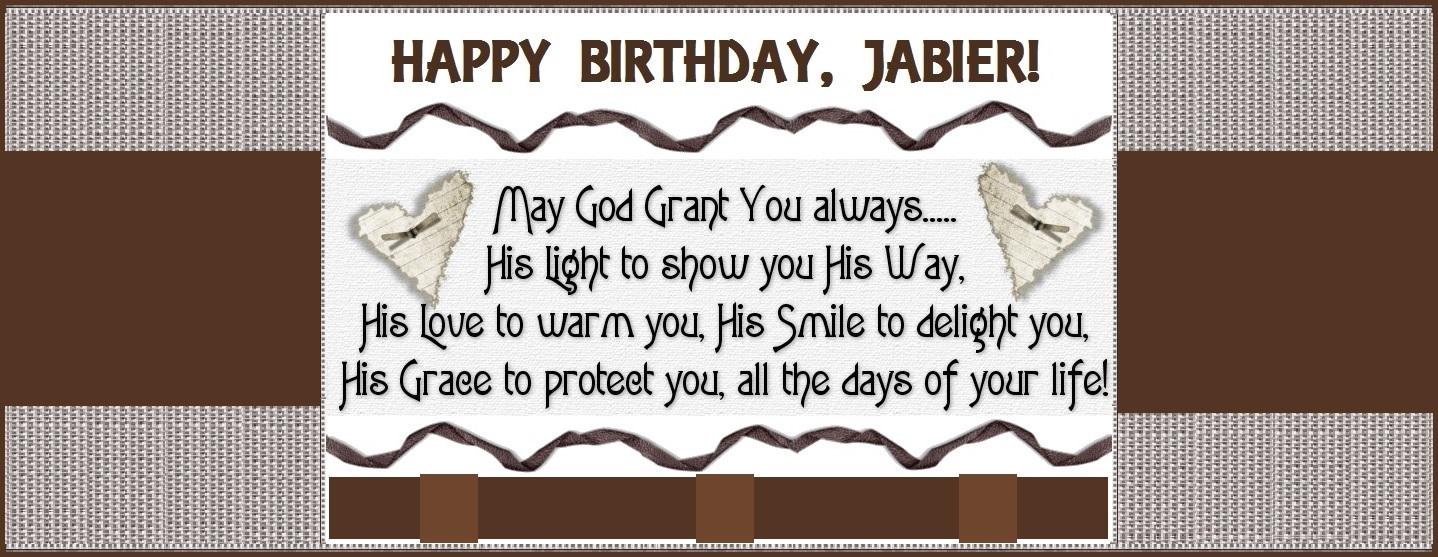 Dominguez Family Blog Birthday Wishes Happy Birthday Jabier