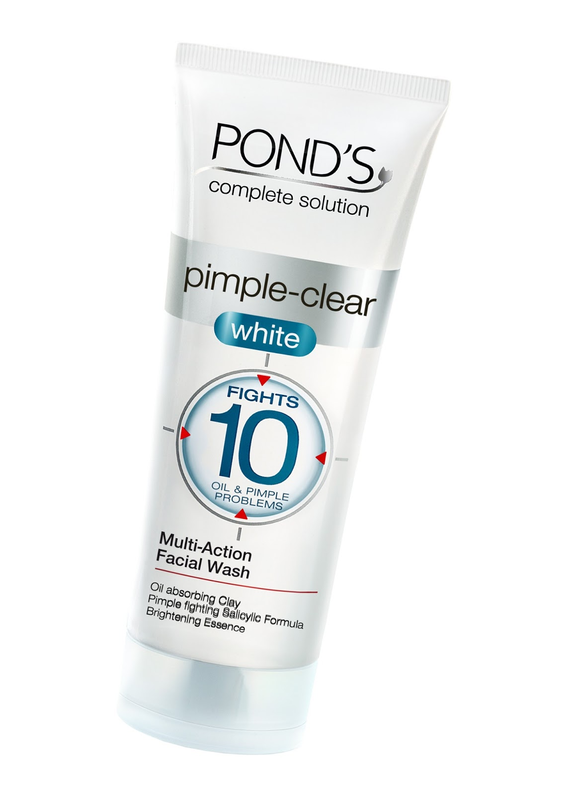New Pond S Pimple Clear White Facial Wash A Multi Action Solution For Ten Oil And Pimple