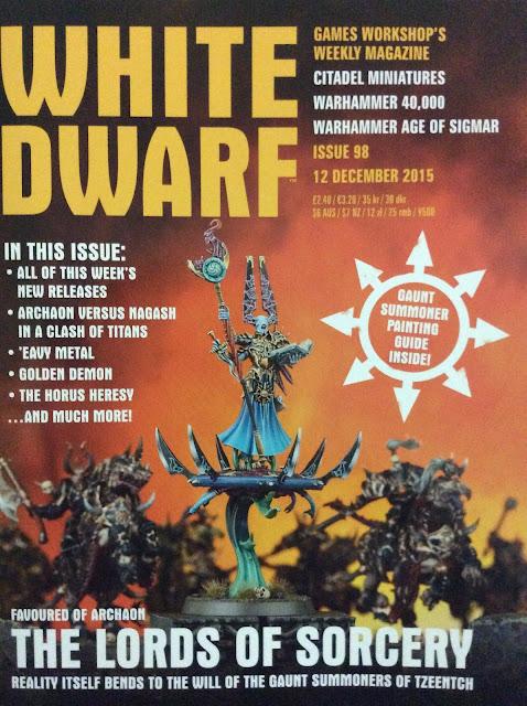Portada White Dwarf 98
