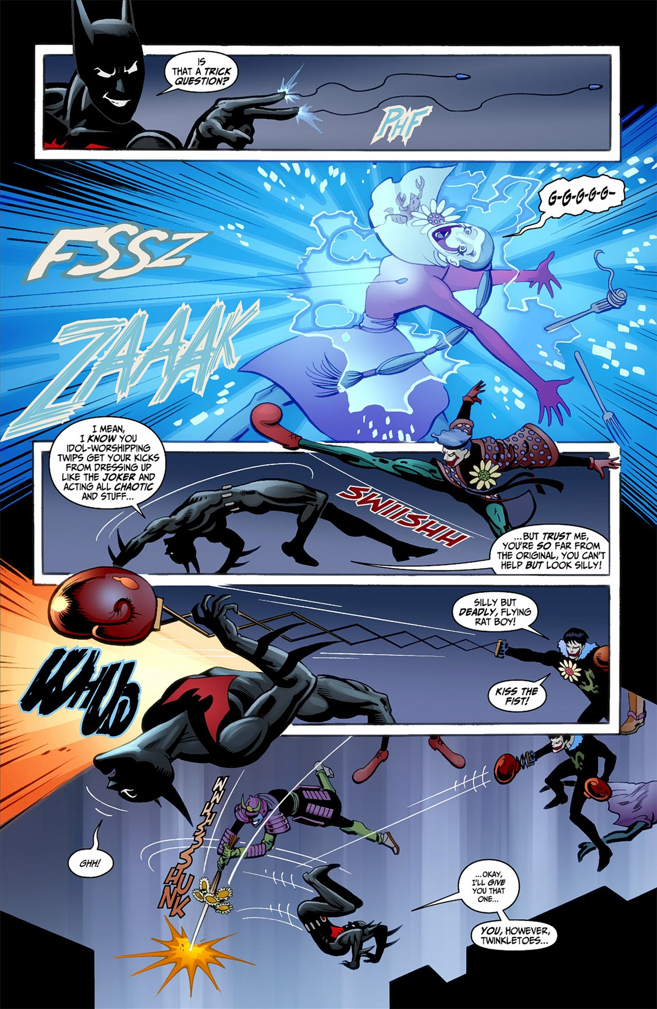 Batman Beyond (2012) Issue #1 #1 - English 5
