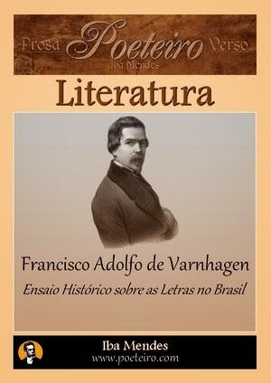 Ensaio Histórico sobre as Letras no Brasil, de Francisco Adolfo de Varnhagen
