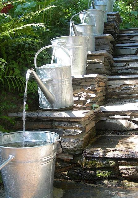 fuente original para jardin