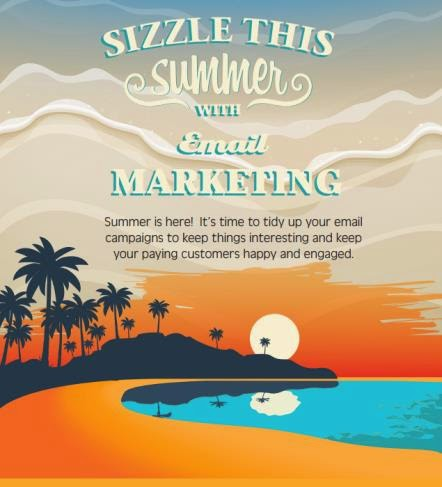 Summer Email Marketing infographic