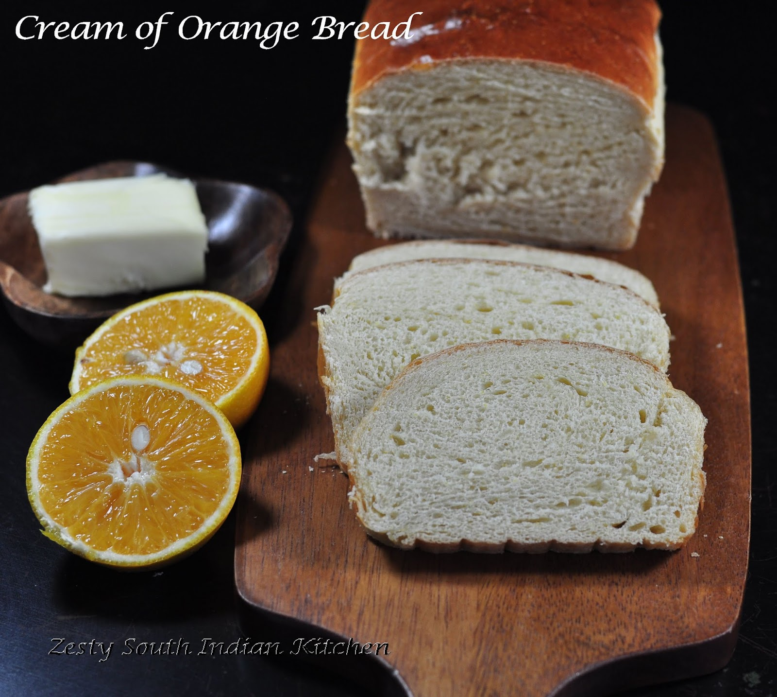 Cream of orange bread and Red Star Yeast Giveaway - Zesty ...