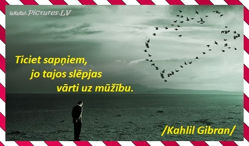 Kahlil Gibran citāts