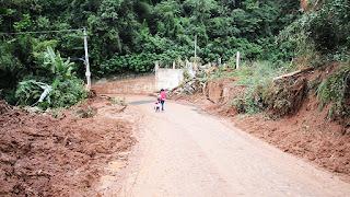 Na Granja Florestal, a Rua Álvaro Alvim já está desobstruída e liberada para o tráfego