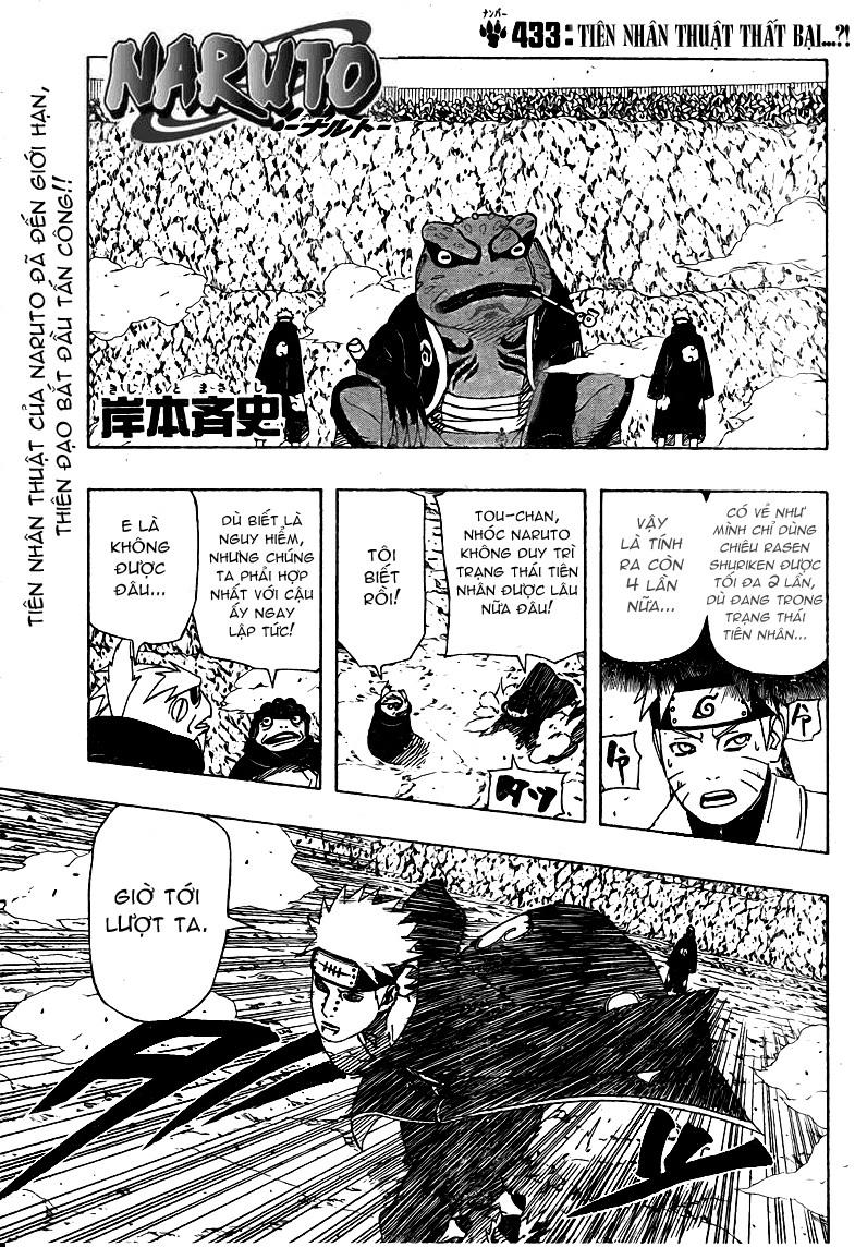 Naruto chap 433 Trang 2 - Mangak.info