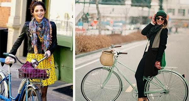Accesorios y complementos para ciclistas urbanas.