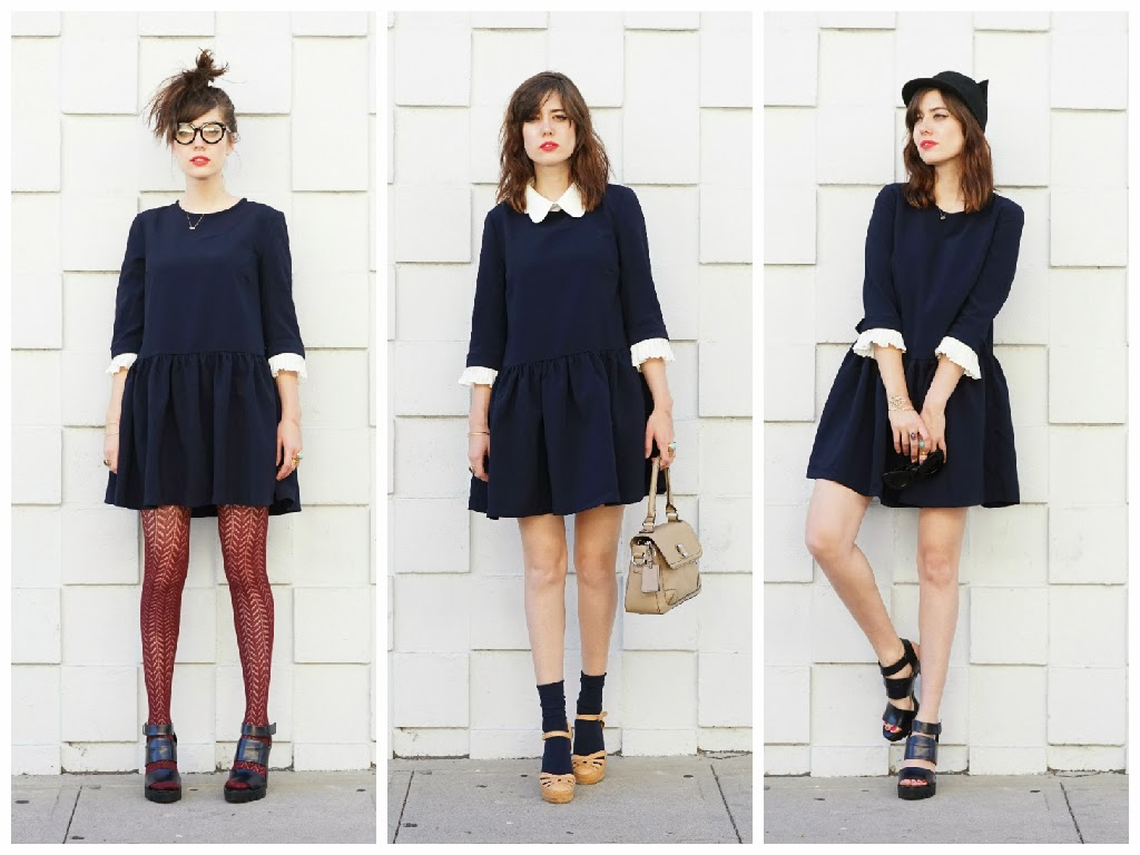 How to wear a dress 3 different ways!