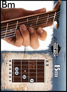 chord+bm Tips Belajar Kunci Dasar Gitar untuk Pemula