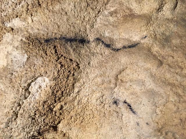 Posibles nuevas pinturas rupestres en Navarra.