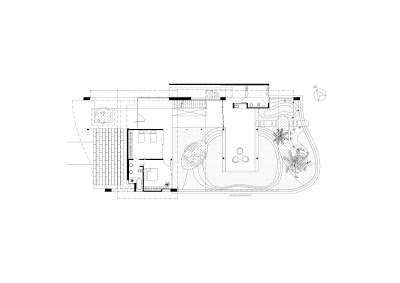 Modern luxury tropical house floor plans