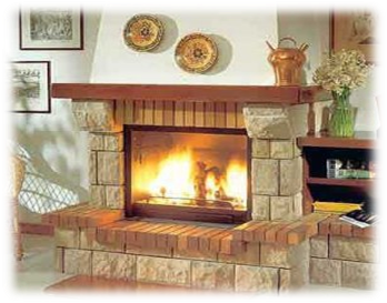 la solucin perfecta para pasar los das fros del invierno es construir una chimenea de ladrillos