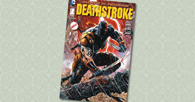 Deathstroke 1 Panini Cover
