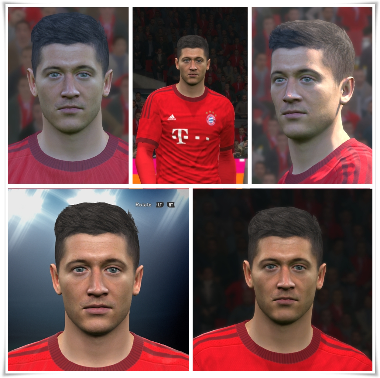PES 2016 Robert Lewandowski