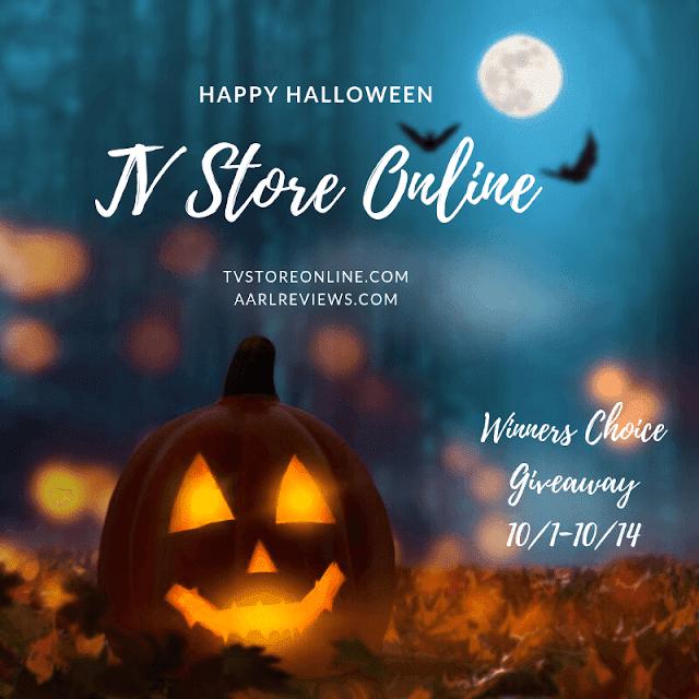 TV Store Online Giveaway Halloween